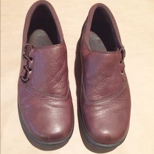 Merrell Topo Twist brown leather loafer shoes